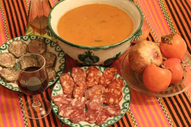 Andalucian cookery for Taller andaluz de cocina